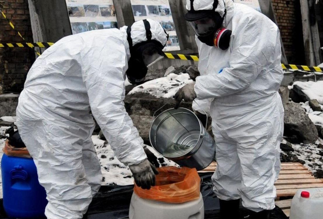 Обеспечение экологической безопасности при выполнении работ в области обращения с отходами